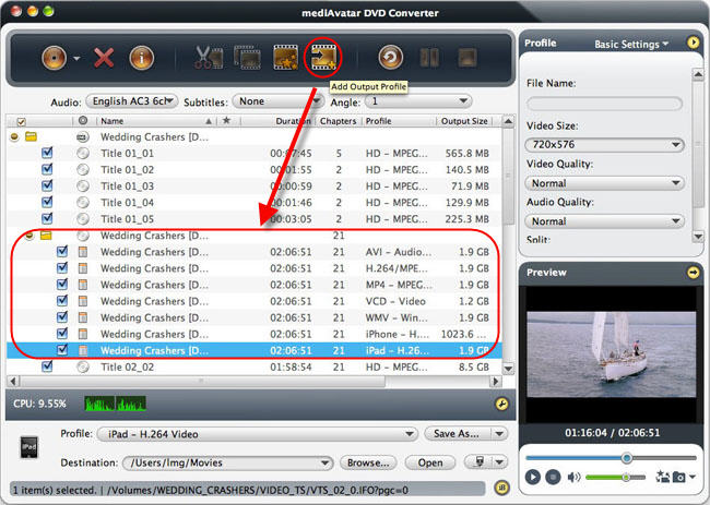 How to conver DVDS on Mac