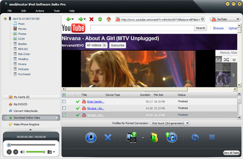 online video downloader for iPod